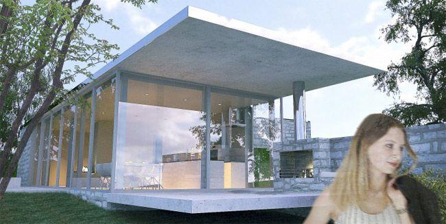 Perspective d'architecture photo-réaliste