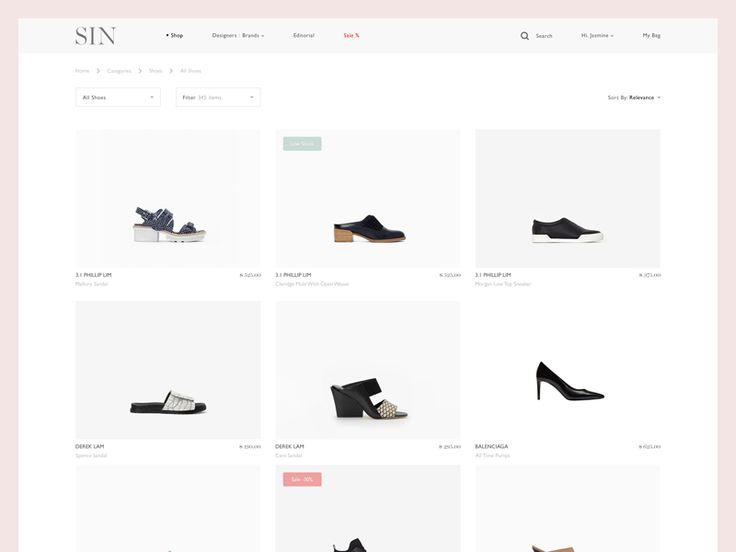 E-commerce Shoes #shop #shoes #web