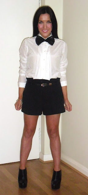 Check out @FifiBaggins' tips for styling a #whiteshirt tuxedo-style. Heaps of pics on her blog...