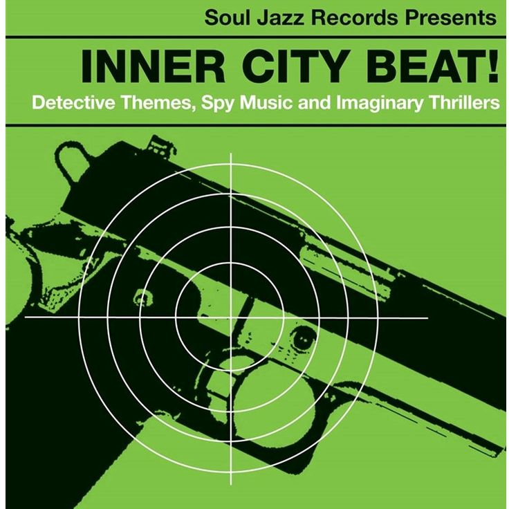 Inner City Beat: Detective Themes, Spy Music And Imaginary Thrillers 1967-1975 - Various Artists on 2LP + Download Code