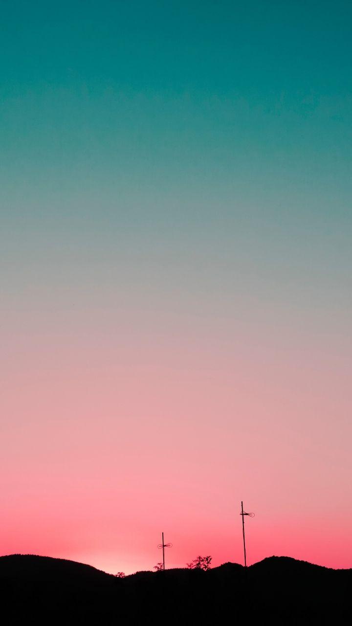 Sunset Sky Hills Wallpaper 720x1280 Sunrise Wallpaper Wallpaper Keren Sunset Sky Bts wallpaper for oppo a3s