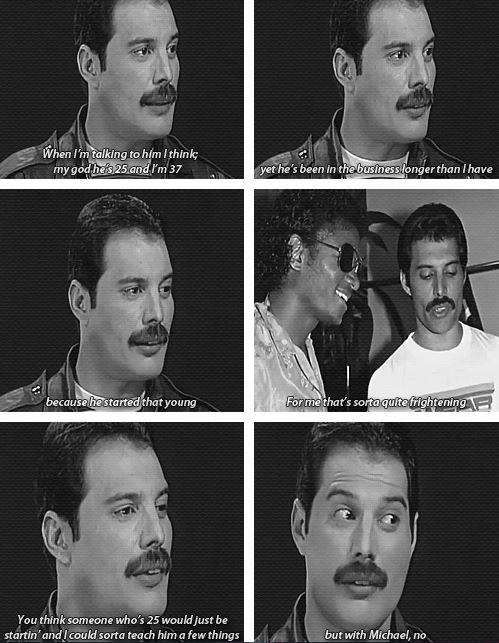 Freddie Mercury talking about Michael Jackson | What they talk about Michael Jackson ღ by ⊰@carlamartinsmj⊱