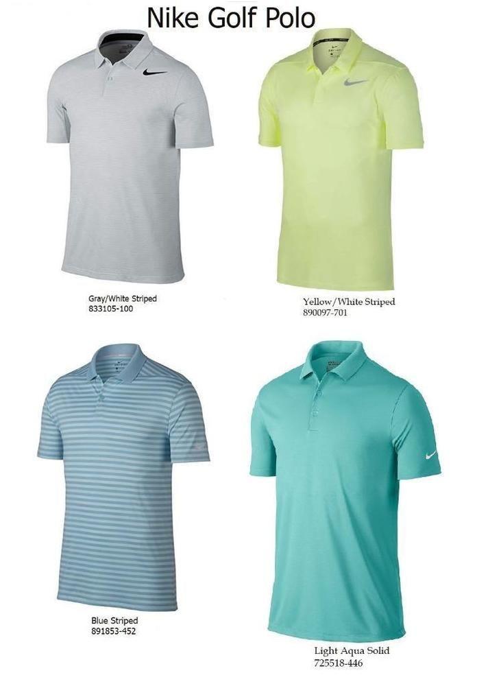 3b13ddf8 Nike Men's DriFIT Polyester Golf Polo Shirt L XL 2XL 725518 833105 890097  891853 #Nike #Polo