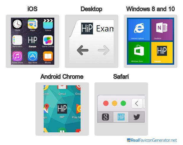 Favicon ‹ HiP-design, advertising, publishing, web&paper — WordPress
