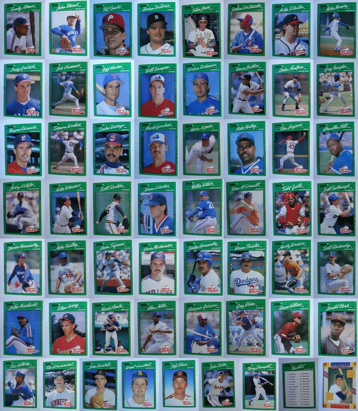 1990 donruss the rookies baseball cards complete your set