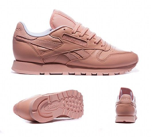 Reebok Womens Classic Leather Spirit Trainer