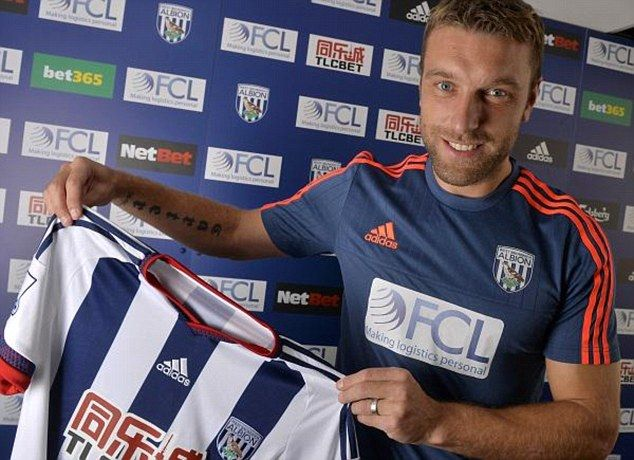 Rickie Lambert (ENG) - From Liverpool (ENG) to West Brom (ENG) - £3million - 2015