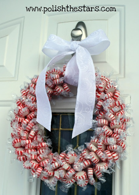 Candy Wreath :)