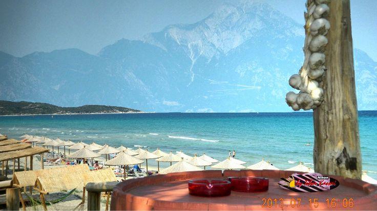 Ark Beach Bar, Sarti, Halkidiki, Greece, Nikon Coolpix L310, HDR-Art photography 2013.