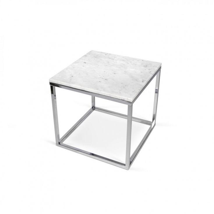 Prairie Marble Top End Table
