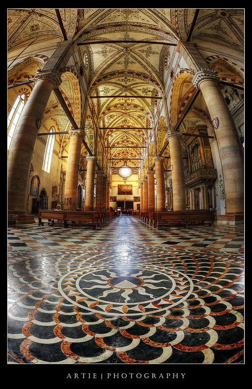 Artie Ng, Church of Sant'Anastasia, Verona, Italy