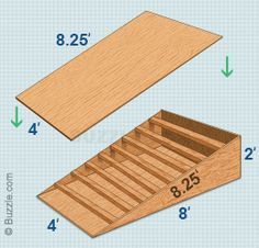 Skateboard Ramp Plan                                                                                                                                                                                 More