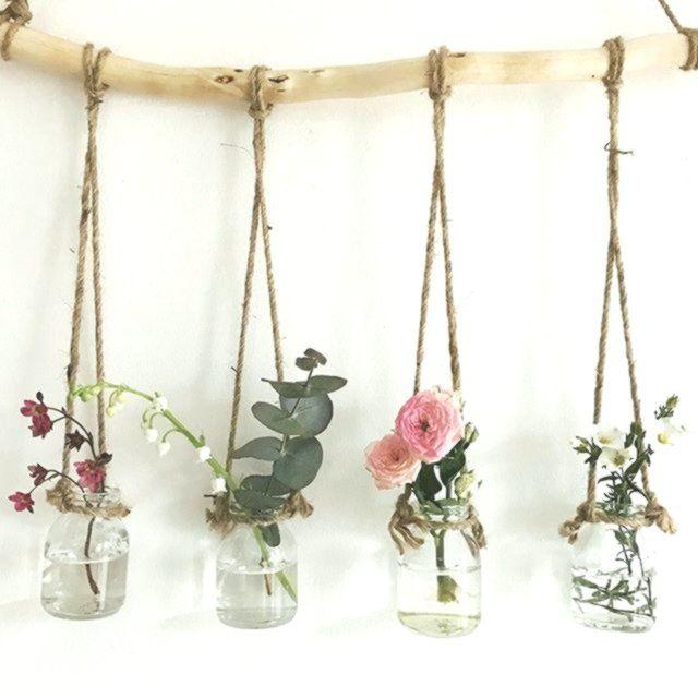 Liebe füllt diese dinky kleinen Vasen … :) x …