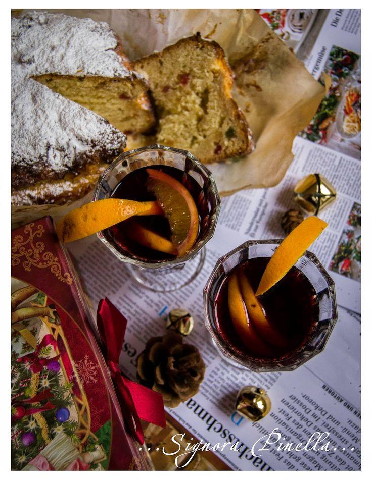 ...Die wundervolle Welt der Signora Pinella... Panettone, Rezept, Glühwein, Italien, Weihnachten, Rezept