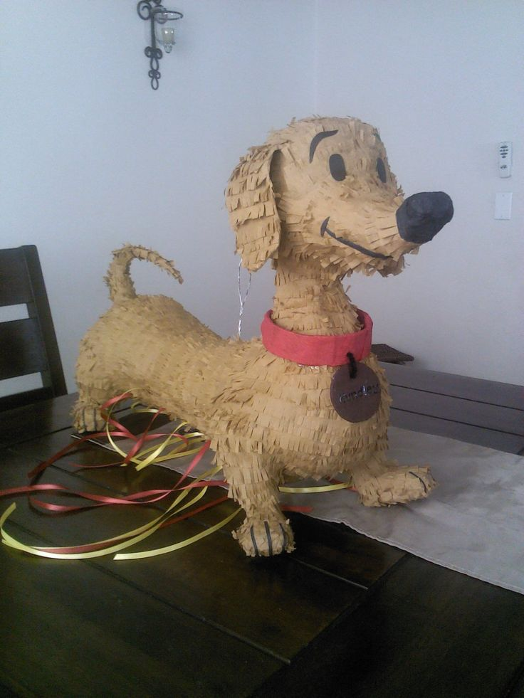 Curious George Or Hundley Dog Pinata By