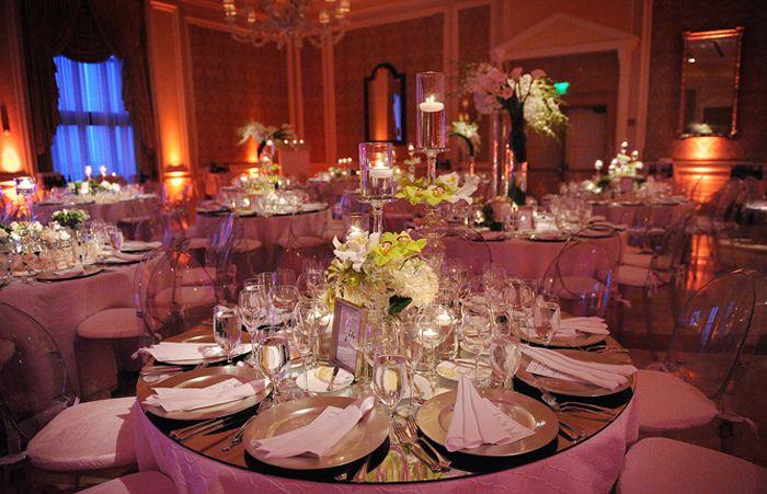 Wedding Dinner Decor Venetian Ballroom Pinterest