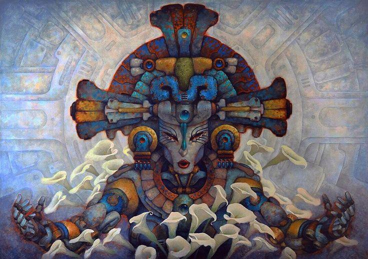 Mayas y mexicas futuristas en la obra de ciencia ficción