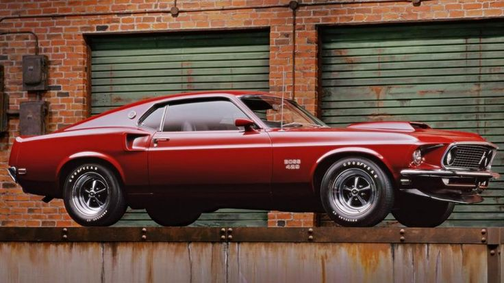 A 1969 Ford Mustang Boss 429