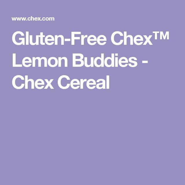 Gluten-Free Chex™ Lemon Buddies - Chex Cereal