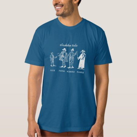 Elizabethan Rules (dark) T-Shirt - tap, personalize, buy right now!