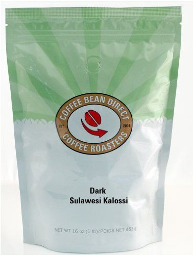 Coffee Bean Direct Dark Sulawesi Kalossi, Whole Bean Coffee, 16-Ounce Bags (Pack of 3) - http://www.freeshippingcoffee.com/brands/coffee-bean-direct/coffee-bean-direct-dark-sulawesi-kalossi-whole-bean-coffee-16-ounce-bags-pack-of-3/ - #CoffeeBeanDirect