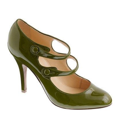 Mona patent Mary Janes: Green Shoes, Pumps Heels, J Crew Mona, Jane Jcrew, Woman Shoes, Mona Patent, Patent Mary, Mary Jane, I D Wear
