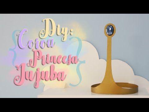 DIY: Coroa da Princesa Jujuba - A hora de Aventura! * Princess Bubblegum - Adventure Time! - YouTube