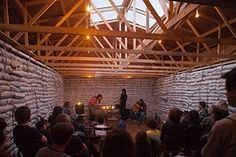 Assemble Architects: Interior of Cafe Oto