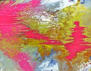 """22""""x28"""" oil, acrylic, cold wax on canvas lindsaycowlesart.blogspot.com"""