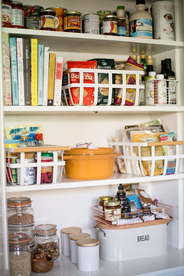 How To Keep Even The Smallest Pantry Organized In 2020 Small