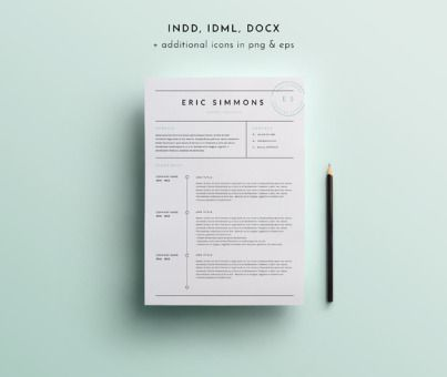 10 best CV images on Pinterest Cv template, Resume cv and - apple resume template
