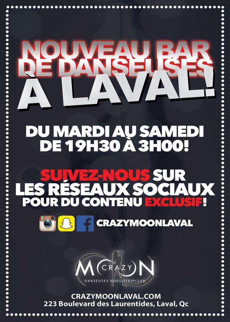 Crazy Moon Laval – Bar de danseuse