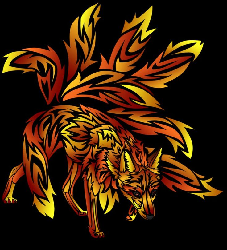 best 25 nine tailed fox images on pinterest foxes fox tattoos and fox. Black Bedroom Furniture Sets. Home Design Ideas