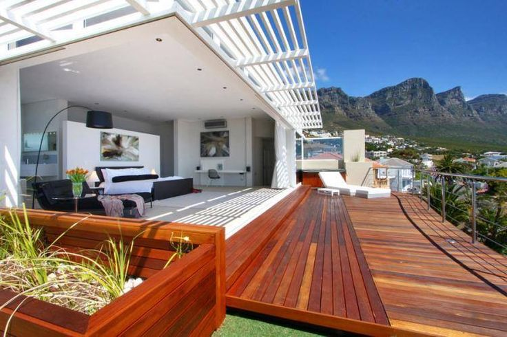 The ultimate stylish and elegant seaside holiday luxury accommodation of the highest standard is offered at Villa Dolce Vita situated in Camps Bay one of Cape Town's most beautiful cosmopolitan beachfronts. Features: • 6 Bedrooms • 7 Bathrooms • Sleeps 12 • Balcony • Air-conditioning • Pool • Beach view • Sea view • WiFi