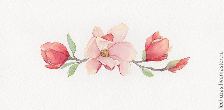 Купить Акварель Цветение Рис2 акварель цветы цветы