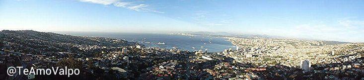 """Panoramica de """"La joya del Pacifico"""" en toda su magnitud #Valparaiso"""