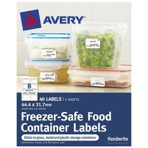 Avery Cottage Collection Rectangle Labels 5 Sheets 8 Per Page