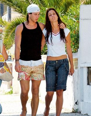 Sergio Ramos with Girlfriend