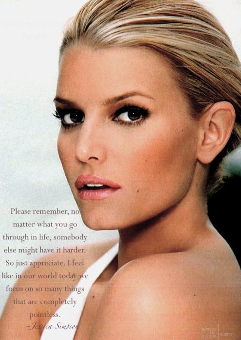 stunning photo of Jessica Simpson ~ she's beautiful inside and out