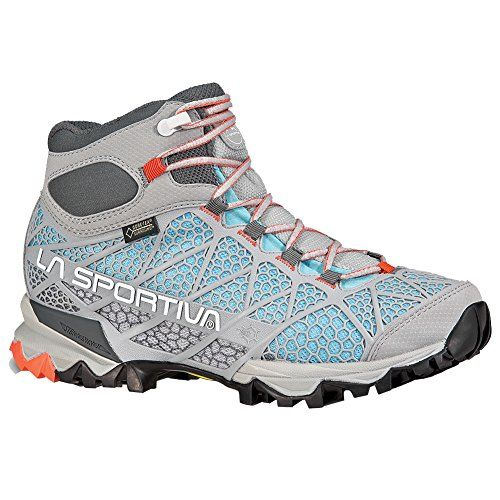 Introducing La Sportiva Core High GTX Mountaineering Hiking Boot for Women  Ice Blue 40 M EU