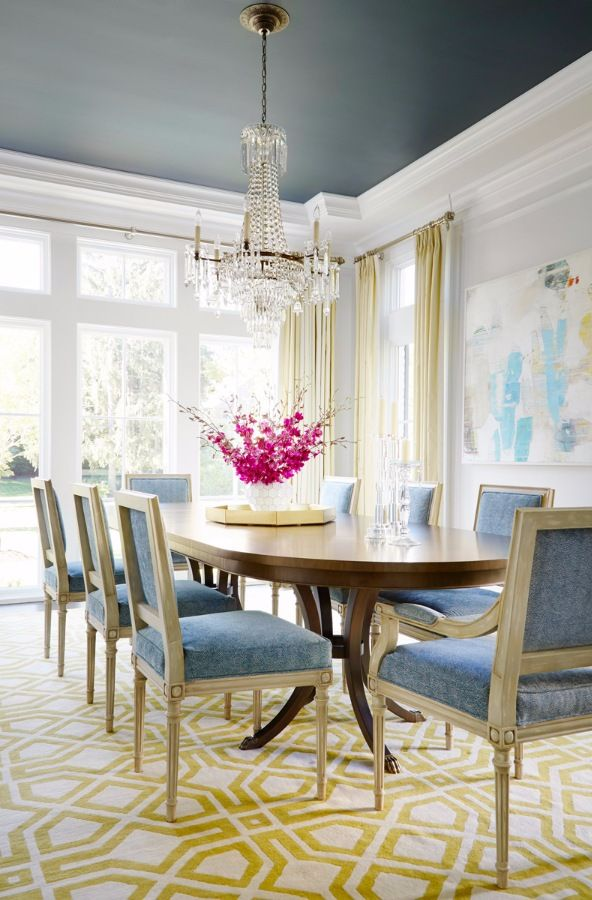 25 best ideas about Dining Rooms on PinterestBlue dinning room