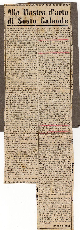 1950 Giornale La Prealpina, Varese
