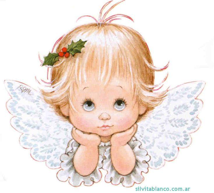 Angelitos dibujos, ILUSTRACIONES infantiles