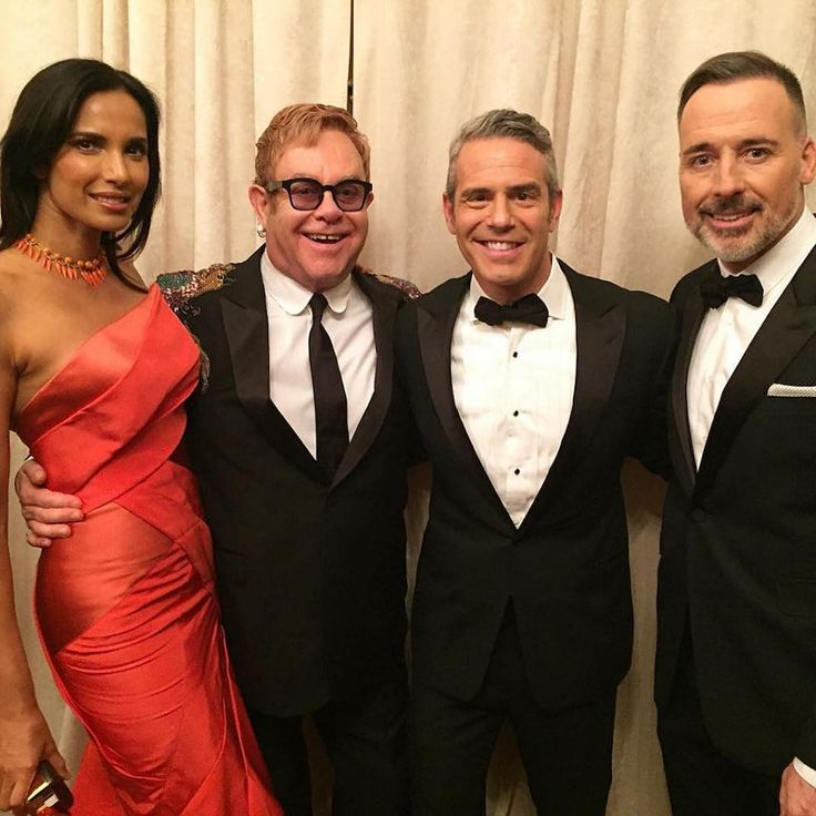 "<p>When you put Cohen in a room, he turns it into a party! ""Hosting the Elton John AIDS Foundation Gala tonight,"" he captioned a pic of him with Padma Lakshmi, Elton John, and John's husband David Furnish. ""I have a hot date (Padma) AND Sir Elton has bedazzled Gucci shoulders — what could be better?"" (Photo: <a rel=""nofollow"" href=""https://www.instagram.com/p/BMU8P_IAEv5/?taken-by=bravoandy"">Instagram</a>) </p>"