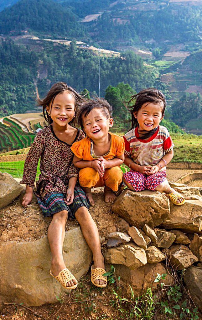 Sonrisas al viento en Vietnam