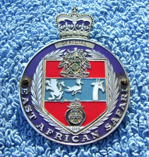 East African Coronation Safari Official Badge 1963