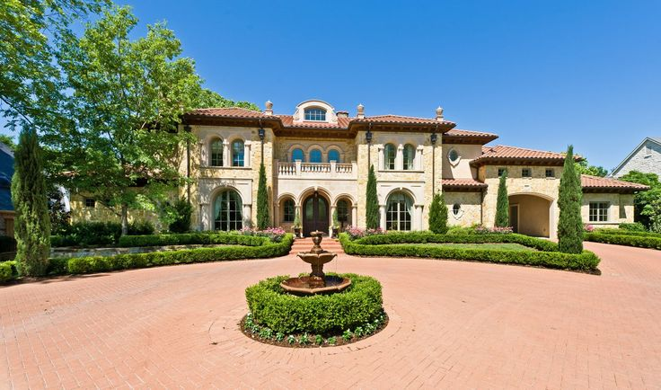 Stone Mediterranean estate :: Dallas, Texas