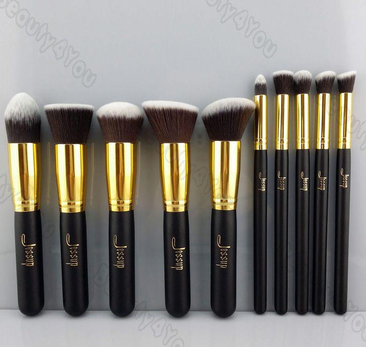 NEW Professional Makeup Set Pro Kits Brushes Kabuki makeup cosmetics brush Tool #Jessup