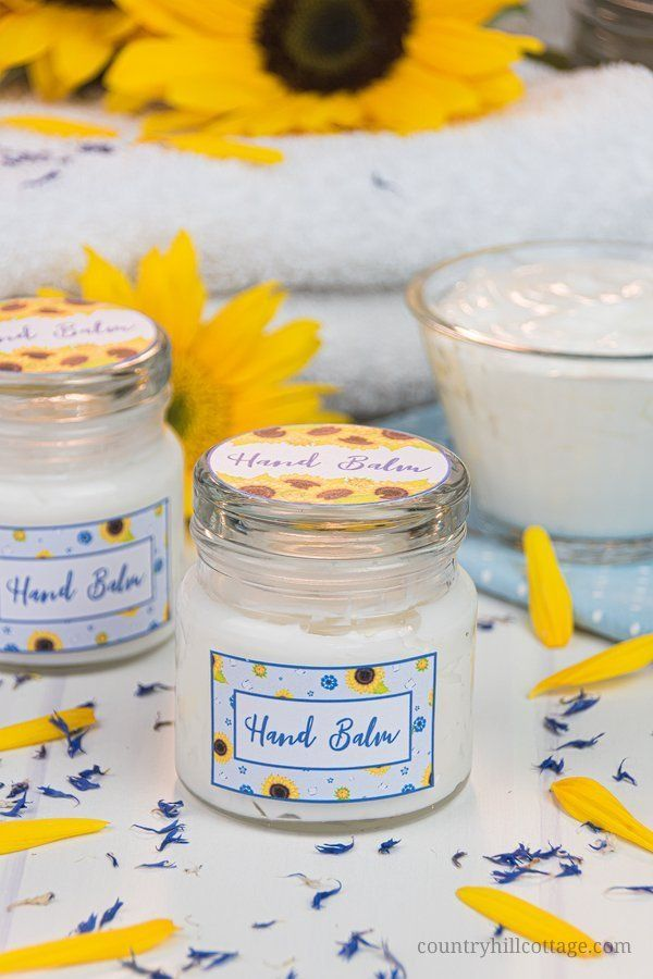 Homemade Hand Cream With Essential Oils – Easy Hand Lotion Recipe