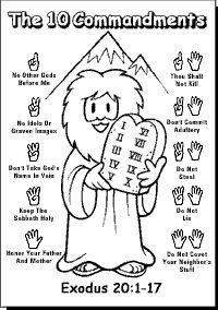 47 best Moses/Ten Commandments Bible Crafts images on